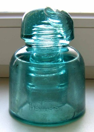Neman-2 glass insulator