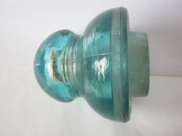 vintage glass insulator